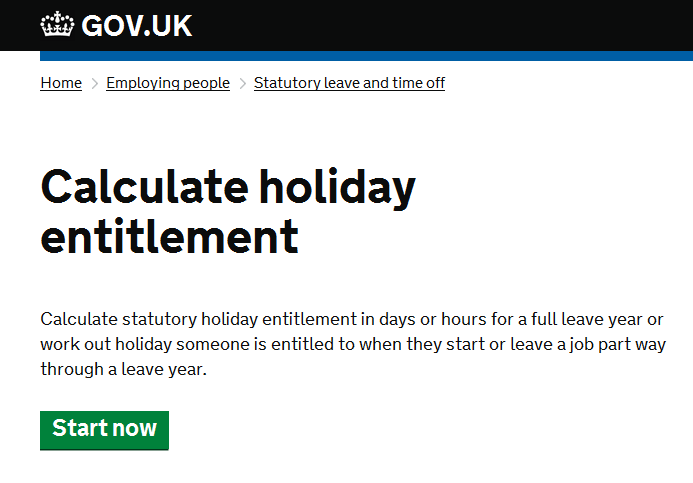 calculate holiday tax nanny payroll ltd